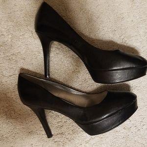 6 inch black stilettos